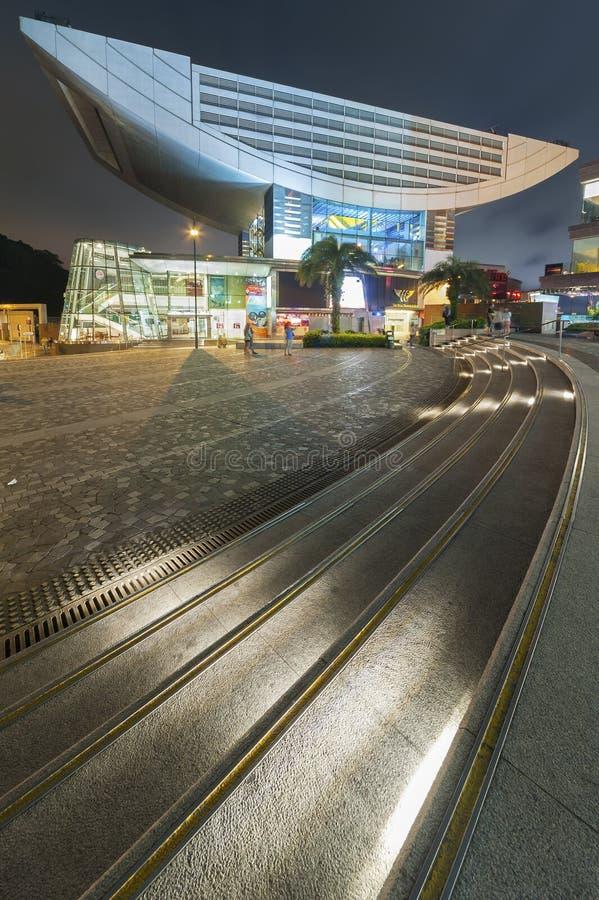 cityscape Hong Kong royaltyfri fotografi