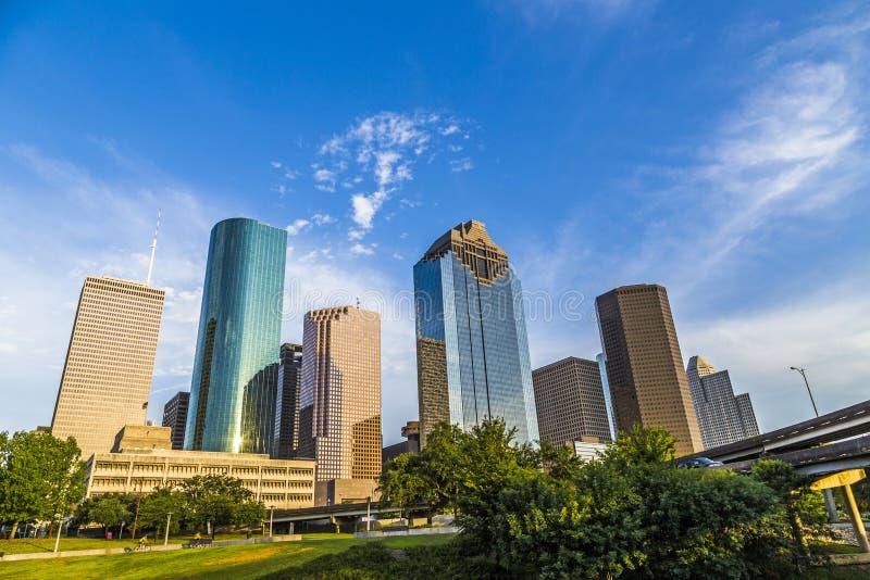 Cityscape of Houston royalty free stock photo