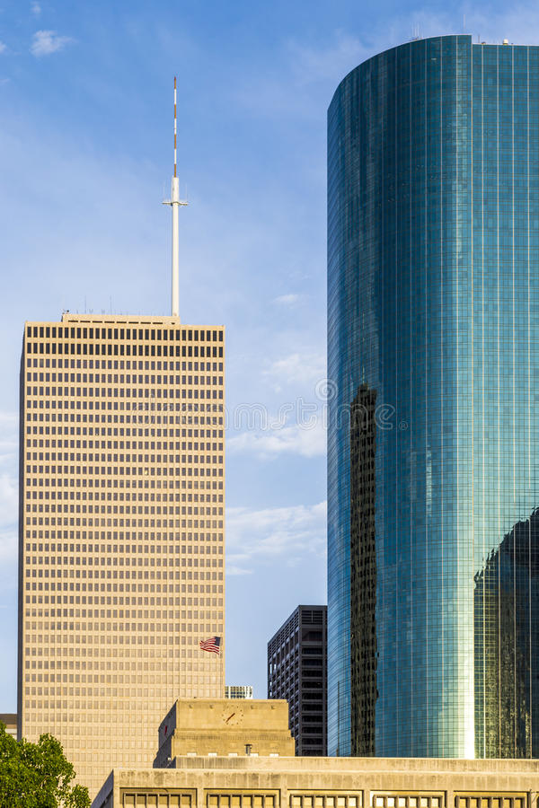 Download Cityscape Of Houston In Late Stock Photo - Image: 33537288