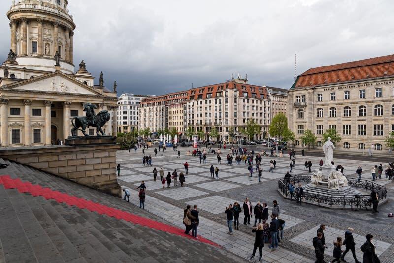 Cityscape i Berlin royaltyfri fotografi