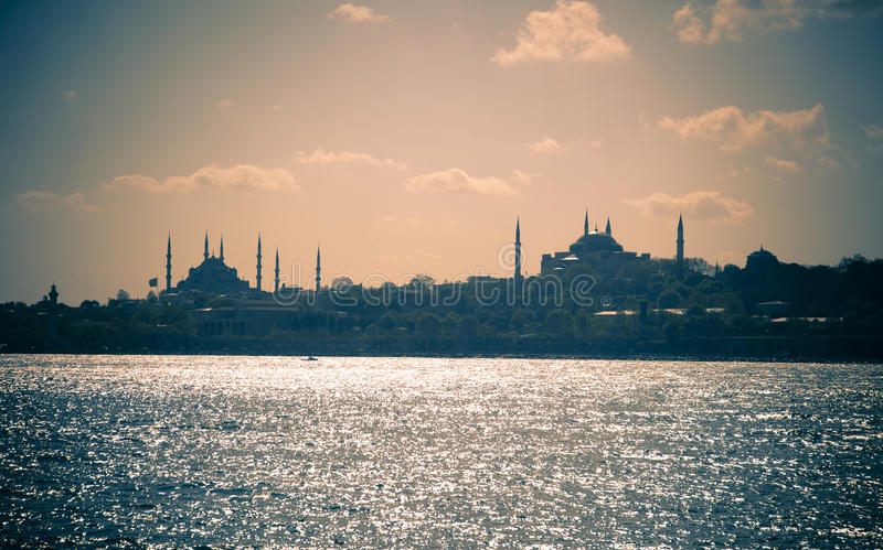 Download Cityscape of Istanbul stock photo. Image of dusk, istanbul - 15305004