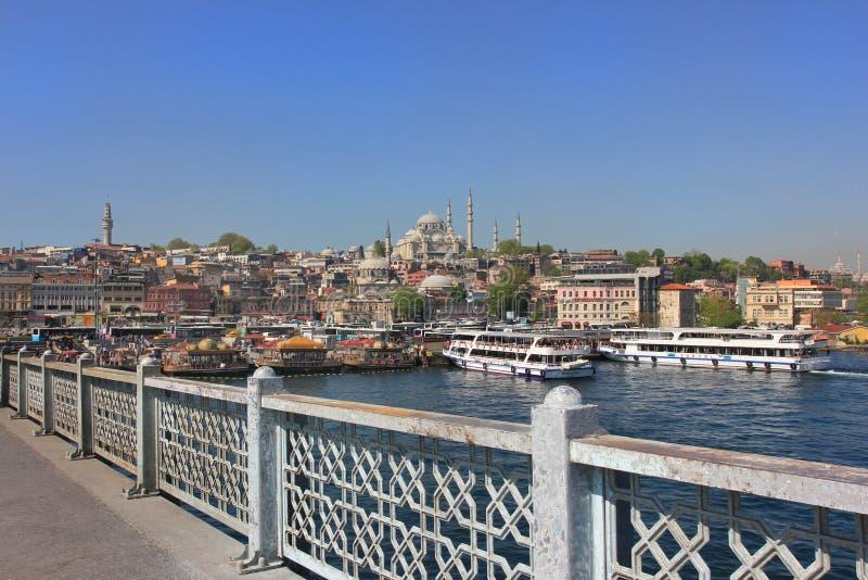Istanbul panorama, Turkey stock photos