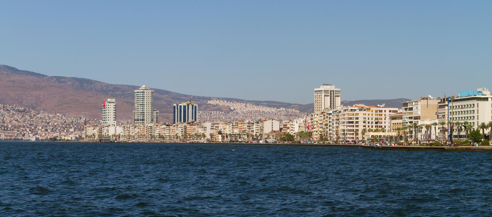 Download Cityscape of Izmir, Turkey stock image. Image of panoramic - 28404025