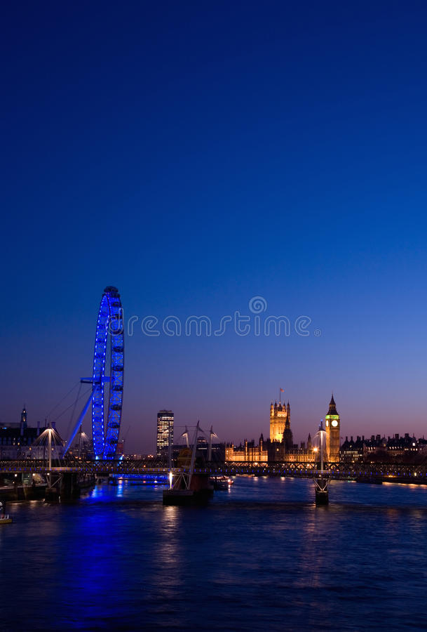 Download Cityscape of London editorial stock image. Image of building - 20537139