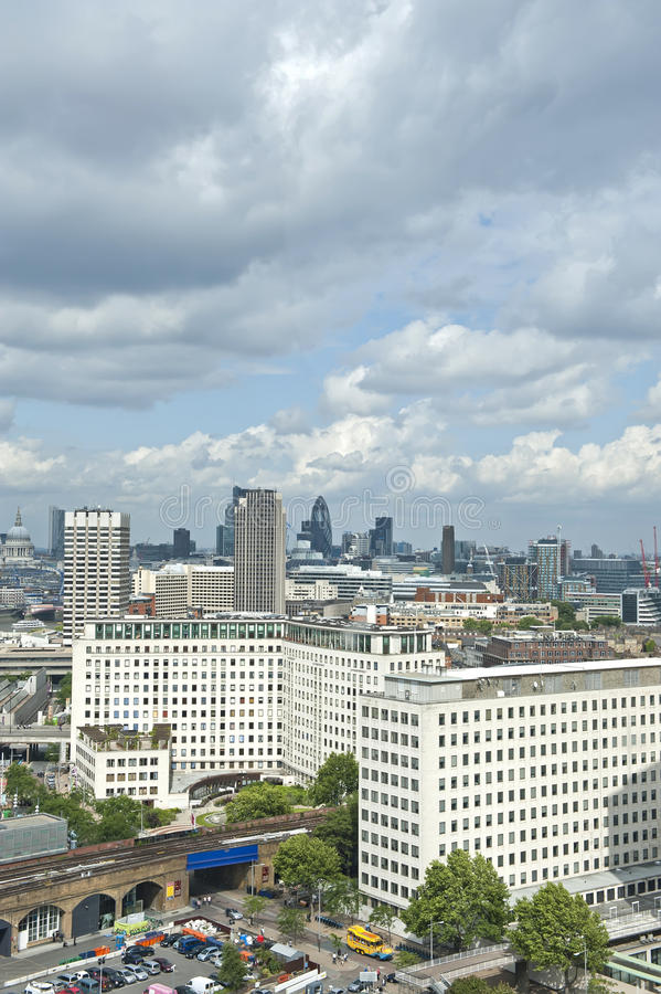 Cityscape of London royalty free stock image