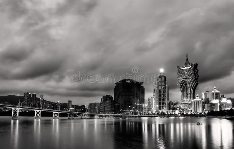 Cityscape In Macao Stock Photography