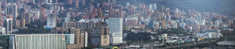 Cityscape of Medellin, Colombia stock image
