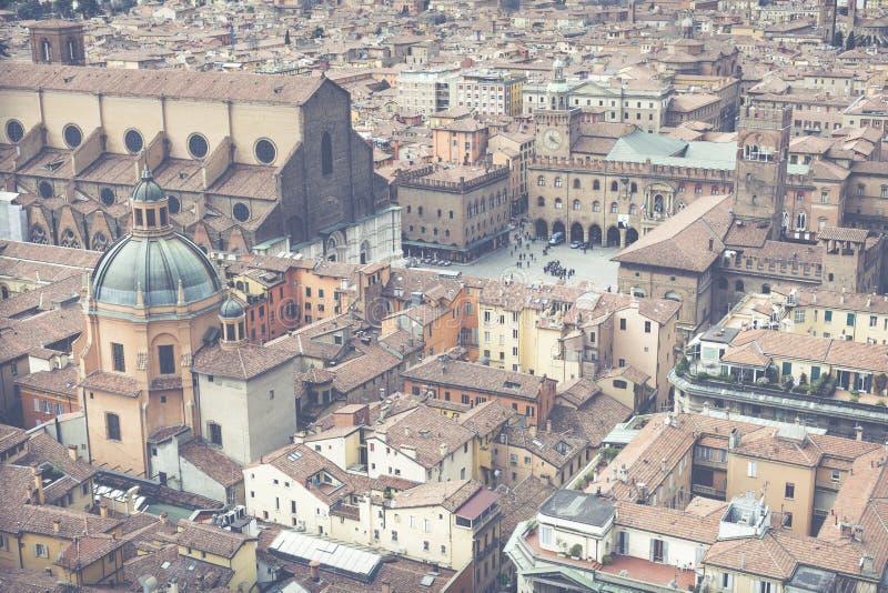 Cityscape mening van Gepaste torri royalty-vrije stock fotografie