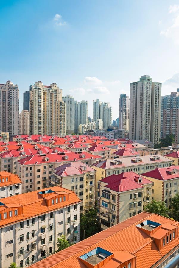 Cityscape of modern city