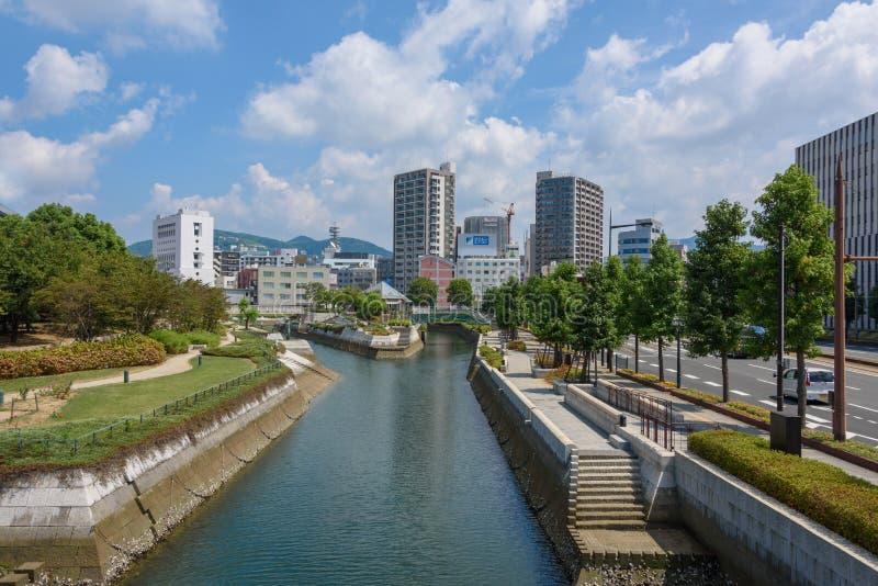 Nagasaki City royalty free stock image