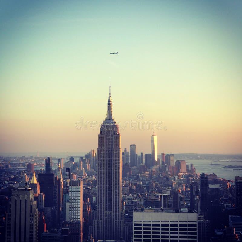 cityscape New York arkivbilder