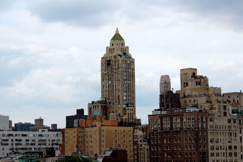 cityscape New York fotografering för bildbyråer