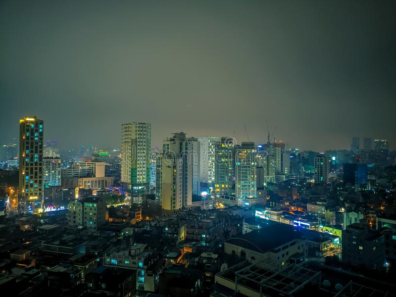 Cityscape beauty of Sejong University. royalty free stock image