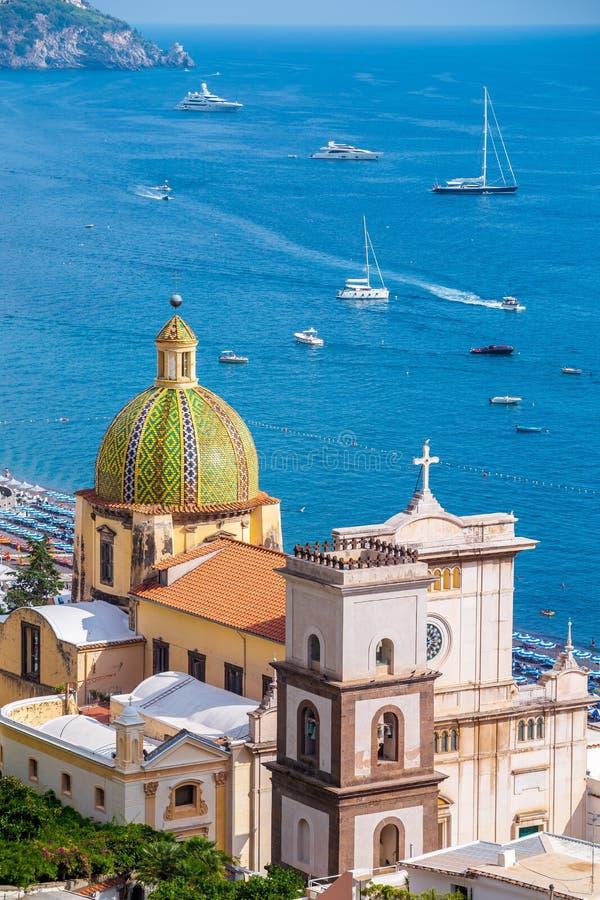 Free Cityscape Of Positano, Amalfi Coast, Salerno, Italy Royalty Free Stock Photography - 182281297
