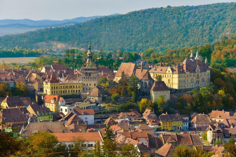 Sighisoara citadel, Transylvania royalty free stock photography