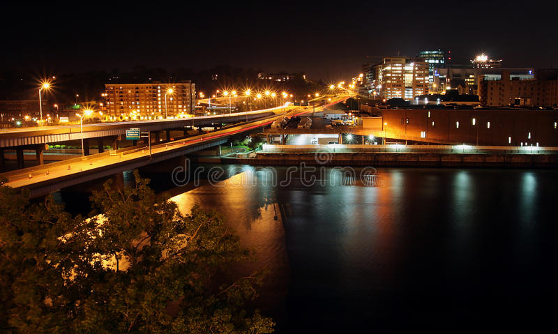 Download Cityscape Photo Of Grand Rapids, MI Stock Image - Image: 14345297