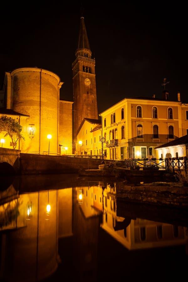 Cityscape, Portogruaro, Veneto, Itali? royalty-vrije stock afbeeldingen