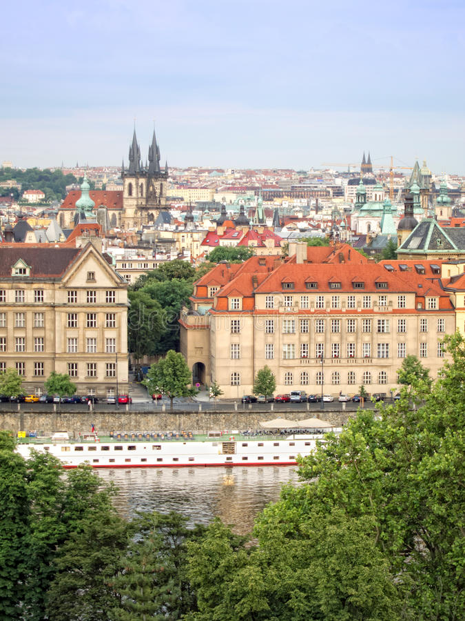 Download Cityscape of Prague stock photo. Image of image, cloud - 26418674