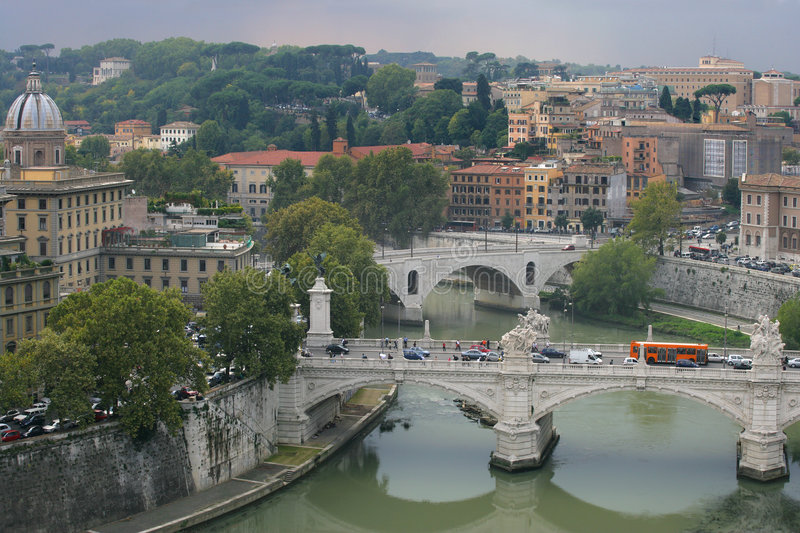 Download Cityscape of Rome, Italy stock image. Image of urban, italy - 853421