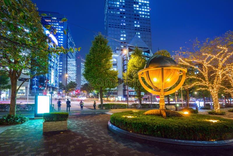 Cityscape of Shinjuku district, Tokyo royalty free stock photos