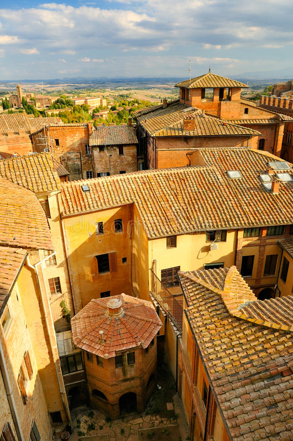 Download Cityscape of Siena stock photo. Image of gothic, landscape - 24228300