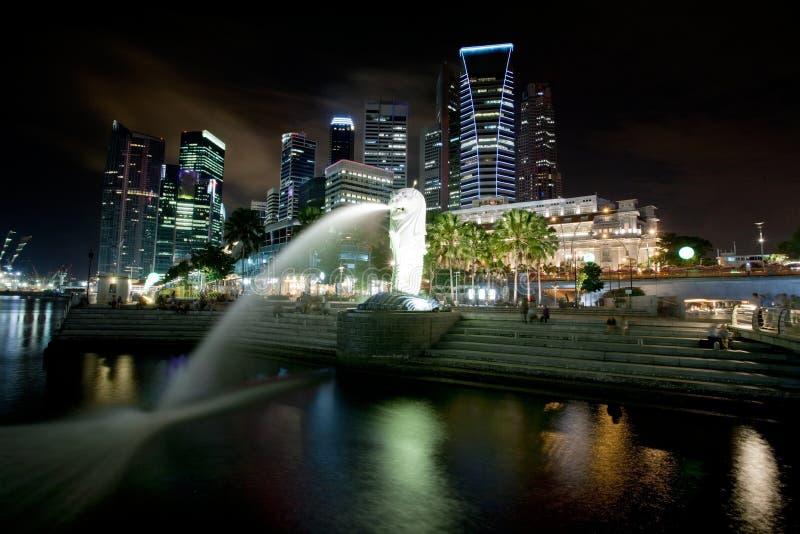 cityscape singapore fotografering för bildbyråer