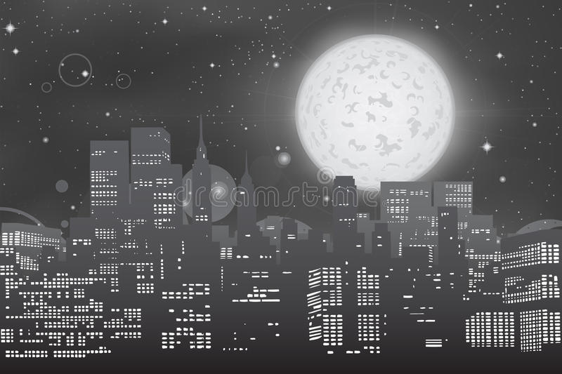 Download Cityscape skyline stock illustration. Image of skyline - 15024109