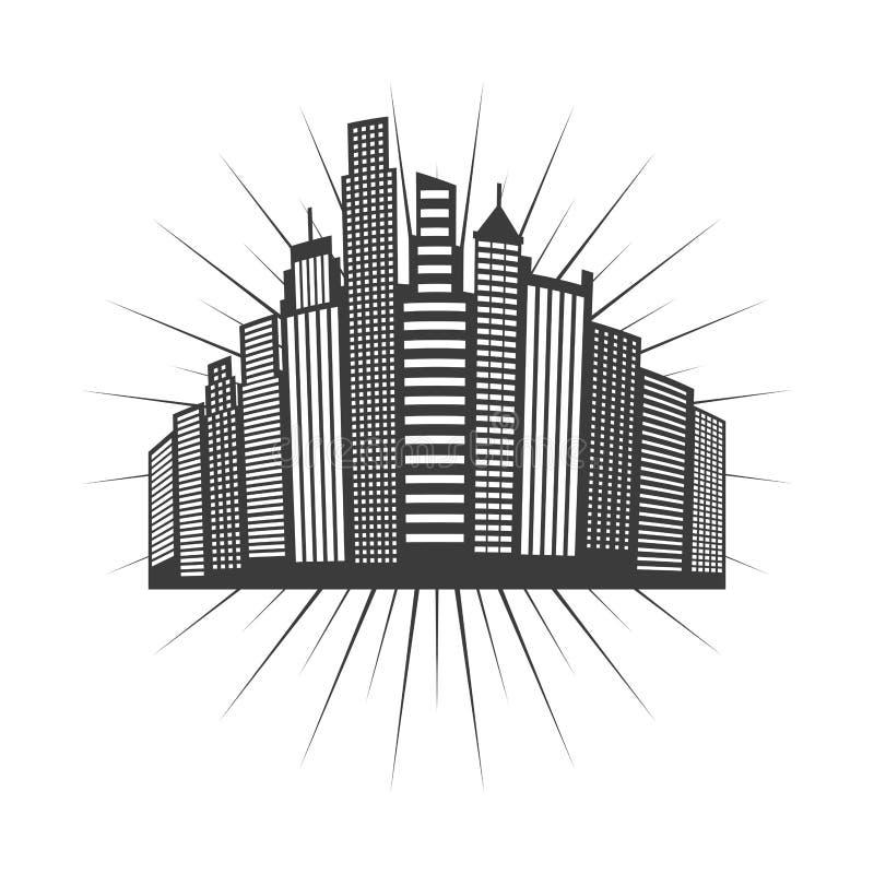 Cityscape skyline design. Illustration eps10 graphic vector illustration