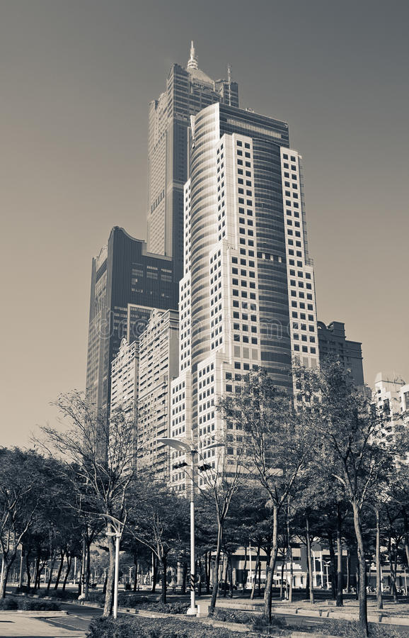 Cityscape Of Skyscrapers Royalty Free Stock Image