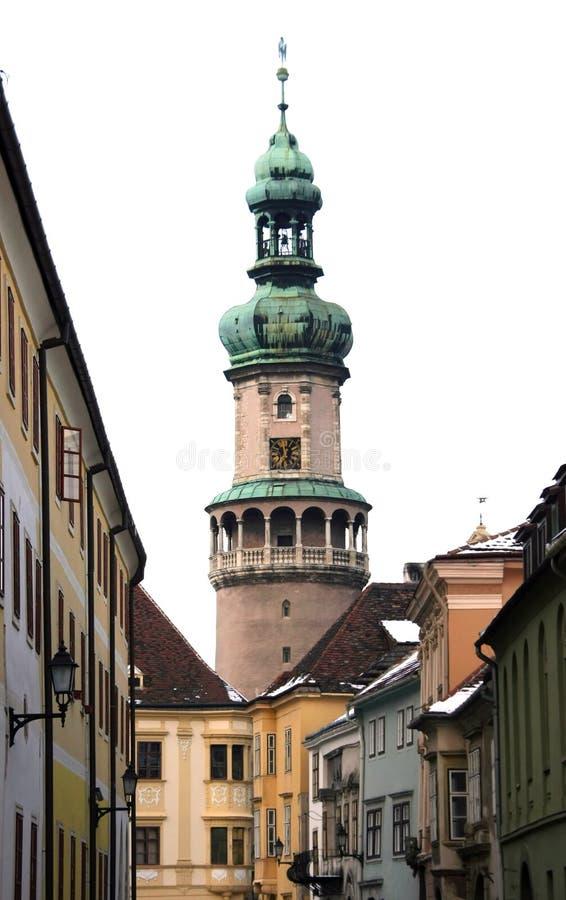 Cityscape - Sopron, Hungary stock photos