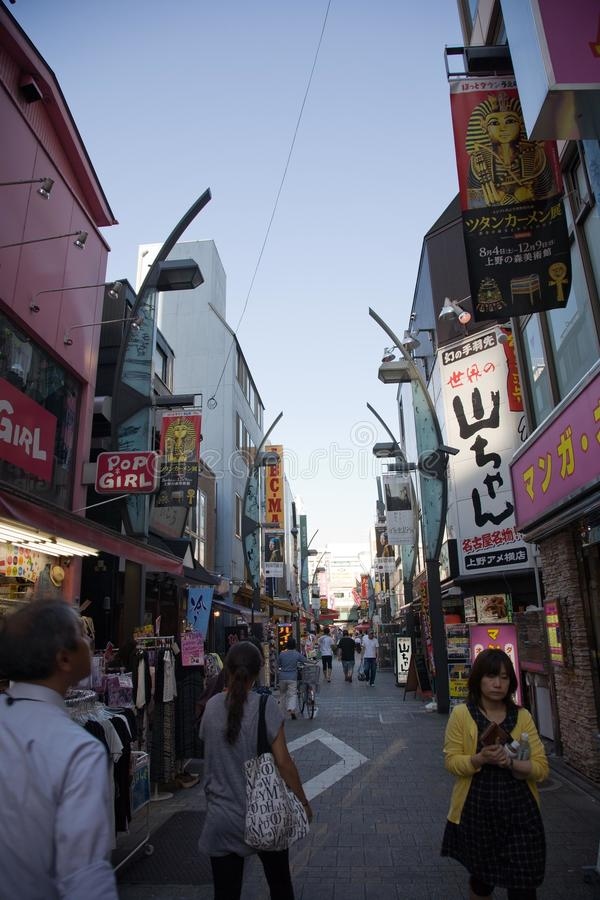 Cityscape Tokyo royalty-vrije stock afbeeldingen