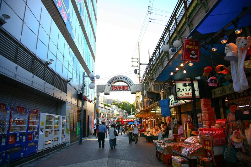 Cityscape Tokyo royalty-vrije stock fotografie