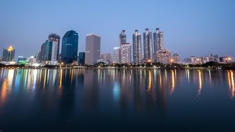 Cityscape torenzaken stock fotografie