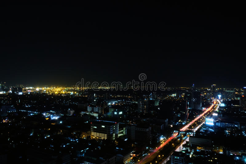 Cityscape van Bangkok royalty-vrije stock foto's