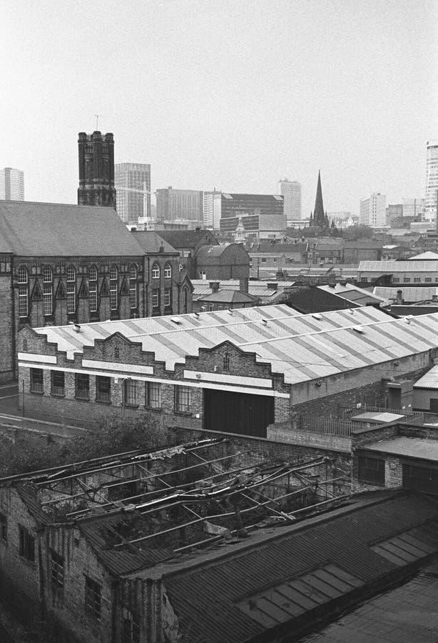Cityscape van Birmingham royalty-vrije stock foto