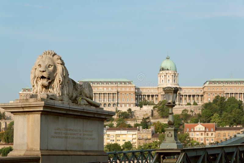 Cityscape van Boedapest royalty-vrije stock foto