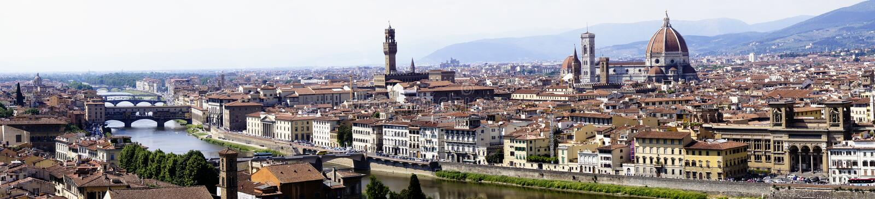 Cityscape van Florence stock foto