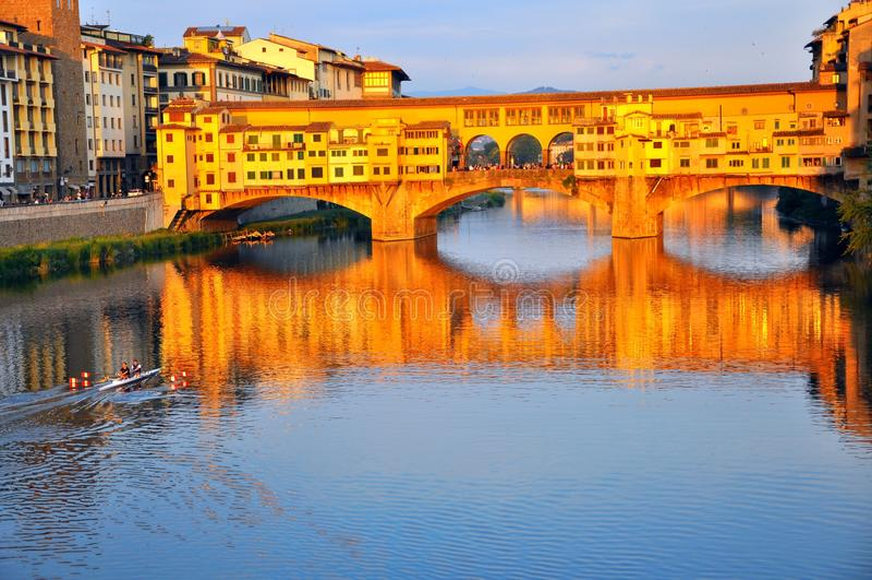 Cityscape van Florence in Italië stock afbeeldingen