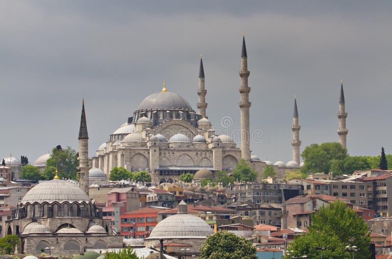 Cityscape van Istanboel royalty-vrije stock fotografie