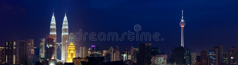 Cityscape van Kuala Lumpur, Maleisië. stock afbeeldingen