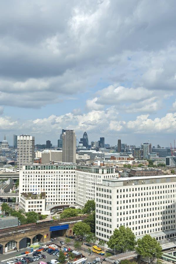 Cityscape van Londen royalty-vrije stock afbeelding