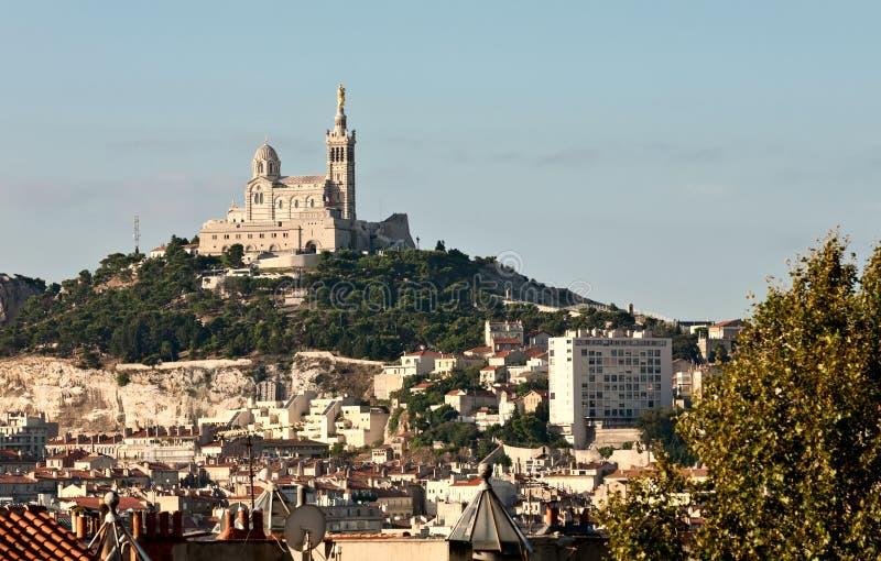Cityscape van Marseille royalty-vrije stock fotografie