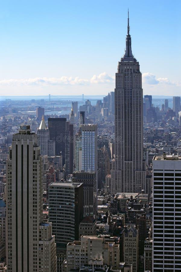 Cityscape van New York royalty-vrije stock foto's