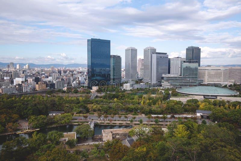 cityscape van Osaka royalty-vrije stock foto