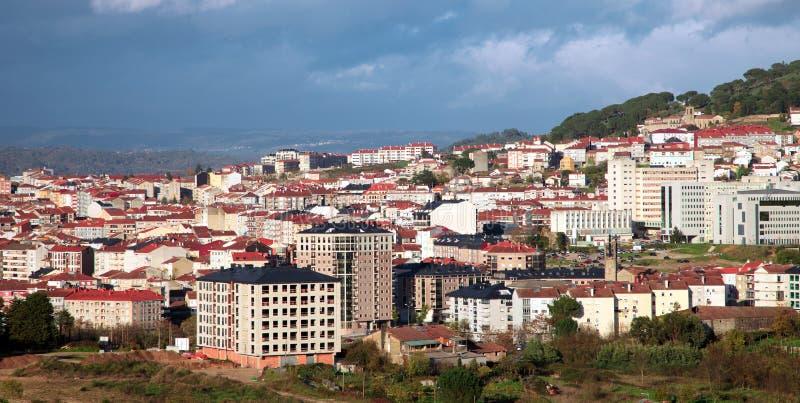 Cityscape van Ourense.Spain stock fotografie