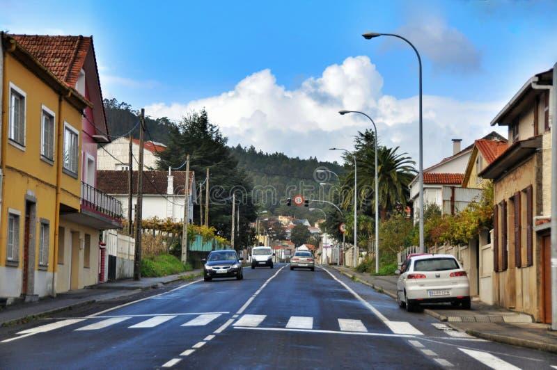 Cityscape van Porto doet Zoon Spanje stock afbeelding