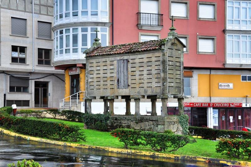 Cityscape van Porto doet Zoon Spanje stock foto's