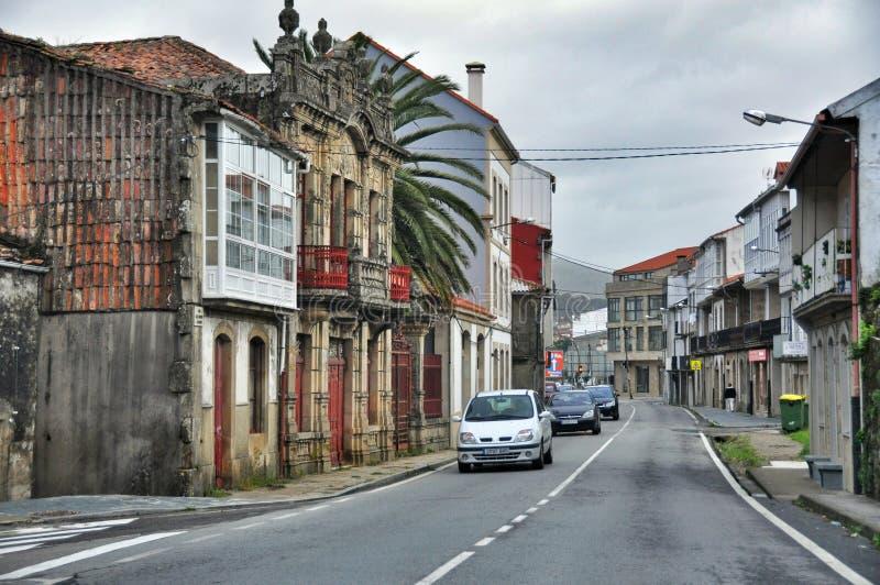 Cityscape van Porto doet Zoon Spanje stock foto