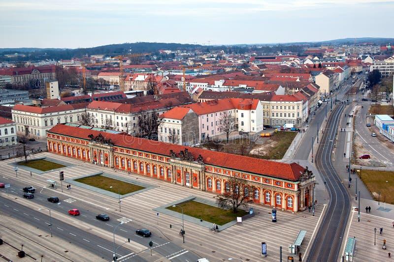 Cityscape van Potsdam stock foto