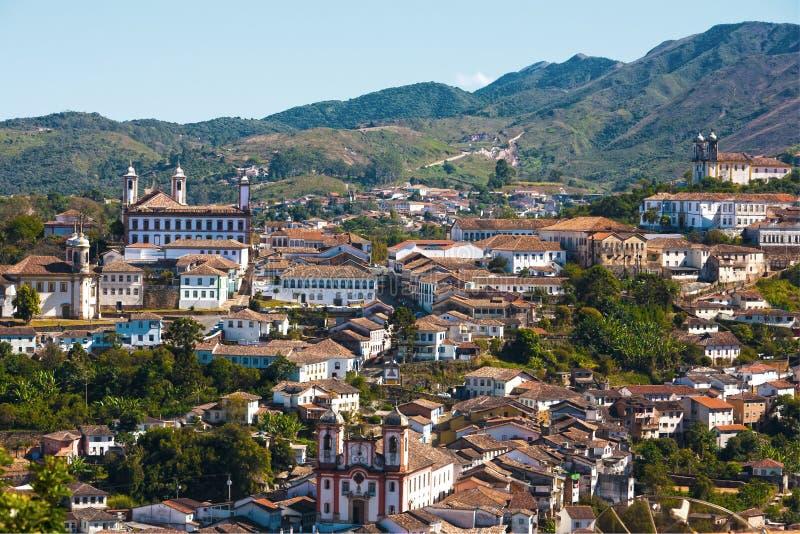 Cityscape van Preto van Ouro royalty-vrije stock afbeelding